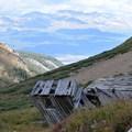 Old mining site.- Mount Sherman Hike via Iowa Gulch