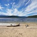 Turquoise Lake.- Baby Doe Campground on Turquoise Lake