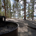 Campsite at Baby Doe Campground.- Baby Doe Campground on Turquoise Lake