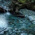 The last fresh water source just below Alder Flats.- Golden Ears Summit Hike