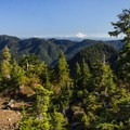 The ridge offers views to the south and east.- Golden Ears Summit Hike