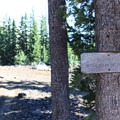 No camping within 100 feet of the trial (a rule that is followed better by some than others).- Chambers Lakes Hike via Obsidian Trailhead