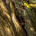 Some routes are short and slabby.- Sully's Hangout Rock Climbing Crag