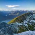 There are a few flat spots that are suitable for pitching a tent.- Golden Ears Summit Hike