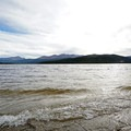 Turquoise Lake.- Turquoise Lake Trail Mountain Bike Ride