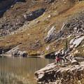 Cecret Lake.- Cecret Lake