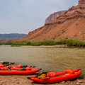 Scenic serenity on the Colorado River.- Colorado River: Moab Daily Section