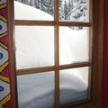 The huts are warm and comfortable inside.- 10th Mountain Division Ski Huts