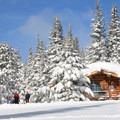Snow playground.- 10th Mountain Division Ski Huts