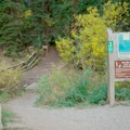 Great Western Trailhead.- Dog Lake Mountain Bike Ride: Great Western Trail to Big Water Trail