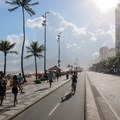 Walking and riding options along Ipanema Beach.- Ipanema Beach