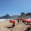 Beachfront at Ipanema Beach.- Ipanema Beach