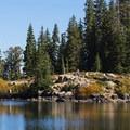 Lake Catherine.- Lake Mary, Lake Martha + Lake Catherine via Catherines Pass Trail