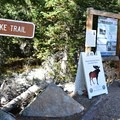 The Mitchell Lake Trail is also the trial to Mount Audubon.- Mount Audubon Hike