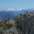 Mount Elsay and the Garibaldi Mountains.- Mount Seymour Summit Hike