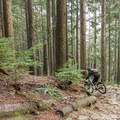The stone banks help to prevent erosion.- Mount Seymour Trails: CBC