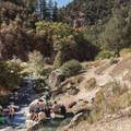 This area has many great jacuzzi-like sections.- Fifth Water Hot Springs