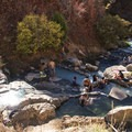 Plenty of great spots to soak at Fifth Water Hot Springs.- Fifth Water Hot Springs