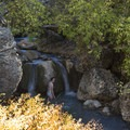 Another waterfall/hotpsring combo.- Fifth Water Hot Springs