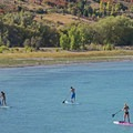 Just minutes from the Bear Lake marina.- The Conestoga Ranch