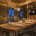 Private dining room.- The Conestoga Ranch