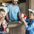 Bear Lake is famous for its raspberries and Conestoga Ranch for its raspeberry shakes.- The Conestoga Ranch