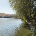 Horsethief Lake at Columbia Hills Historical State Park.- Columbia Hills Historical State Park