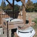 Wash station at Horsethief Lake.- Columbia Hills Historical State Park