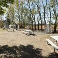 Walk-in campsites at Columbia Hills Historical State Park Campground.- Columbia Hills Historical State Park Campground