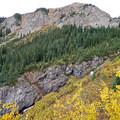 Pine Creek below. - Cathedral Lake Trail