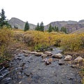 Crossing Pine Creek. - Cathedral Lake Trail