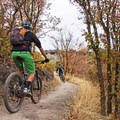 Riding the Corner Canyon Trail System.- Corner Canyon Trail System