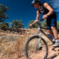 College trail clubs come here to ride from all over the state; this group takes classes in Steamboat.- Kokopelli Loops Mountain Bike Trails: Horsethief Bench