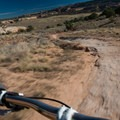 Wide easy trails in sections near the end.- Kokopelli Loops Mountain Bike Trails: Mary's Loop