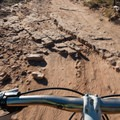 The trail up to Mary's is like an ancient highway of rock.- Kokopelli Loops Mountain Bike Trails: Mary's Loop