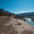 The Colorado River greets a rider starting the loop.- Kokopelli Loops Mountain Bike Trails: Steve's Loop