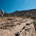 Rock ledges make up much of this ride with little sand to worry about.- Kokopelli Loops Mountain Bike Trails: Steve's Loop