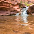 Mill Creek Waterfall and the large swimming hole can only be accessed by hiking.- Mill Creek Swimming Holes