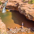 This is a popular spot for locals and tourists alike.- Mill Creek Swimming Holes