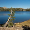 May Lake in Yosemite National Park.- May Lake Trail Hike