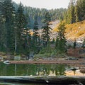 The Canadian Pass.- Elsay Lake Hiking Trail
