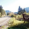 Entering Gunnison National Forest on GCR 12, which travels over Kebler Pass.- Kebler Pass Scenic Road