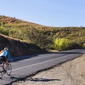 Cycling on Emigration Canyon.- Emigration Canyon Road Cycling