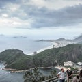 View to Copacabana from Sugarloaf Mountain. - Sugarloaf Mountain