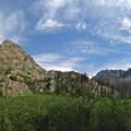 Beautiful views along the Zirkel Circle.- Zirkel Circle Hike
