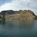 First view of Gilpin Lake.- Zirkel Circle Hike