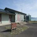 Restroom and maintenance facility at Netarts Bay Landing.- Netarts Bay Landing