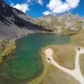 Bird's-eye view of Clear Lake.- Clear Lake