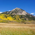 Mount Crested Butte, 5 miles south of Oh Be Joyful Campground.- Oh Be Joyful Campground
