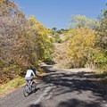 Riding City Creek Canyon Road.- City Creek Canyon Road Cycling